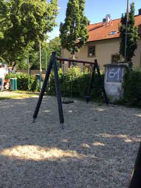 Baden Spielplatz
