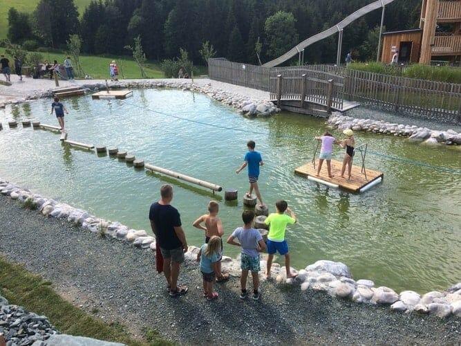 Wasserspielplatz Eis Greissler